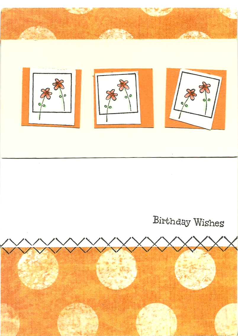 A141 KB's Retro Daisies Box Mini, A191Birthday Wishes Jelly, HH19 Border Dual Stitches #1
