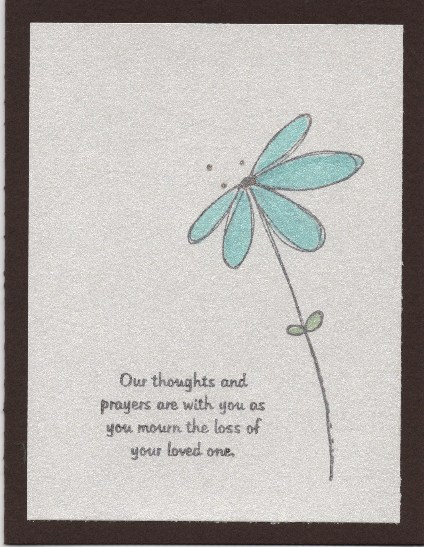 Quotes For A Loss Of A Loved One Loved One Endless Creations Rubber Stamps