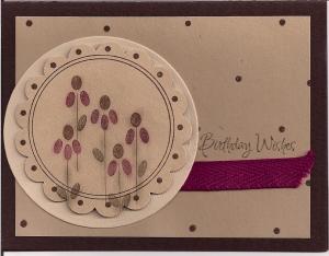 G33 Teardrop Flowers Lg