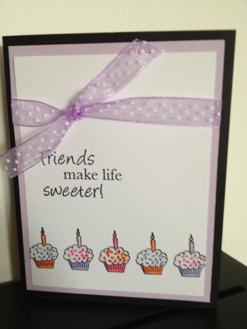 friends cupcake