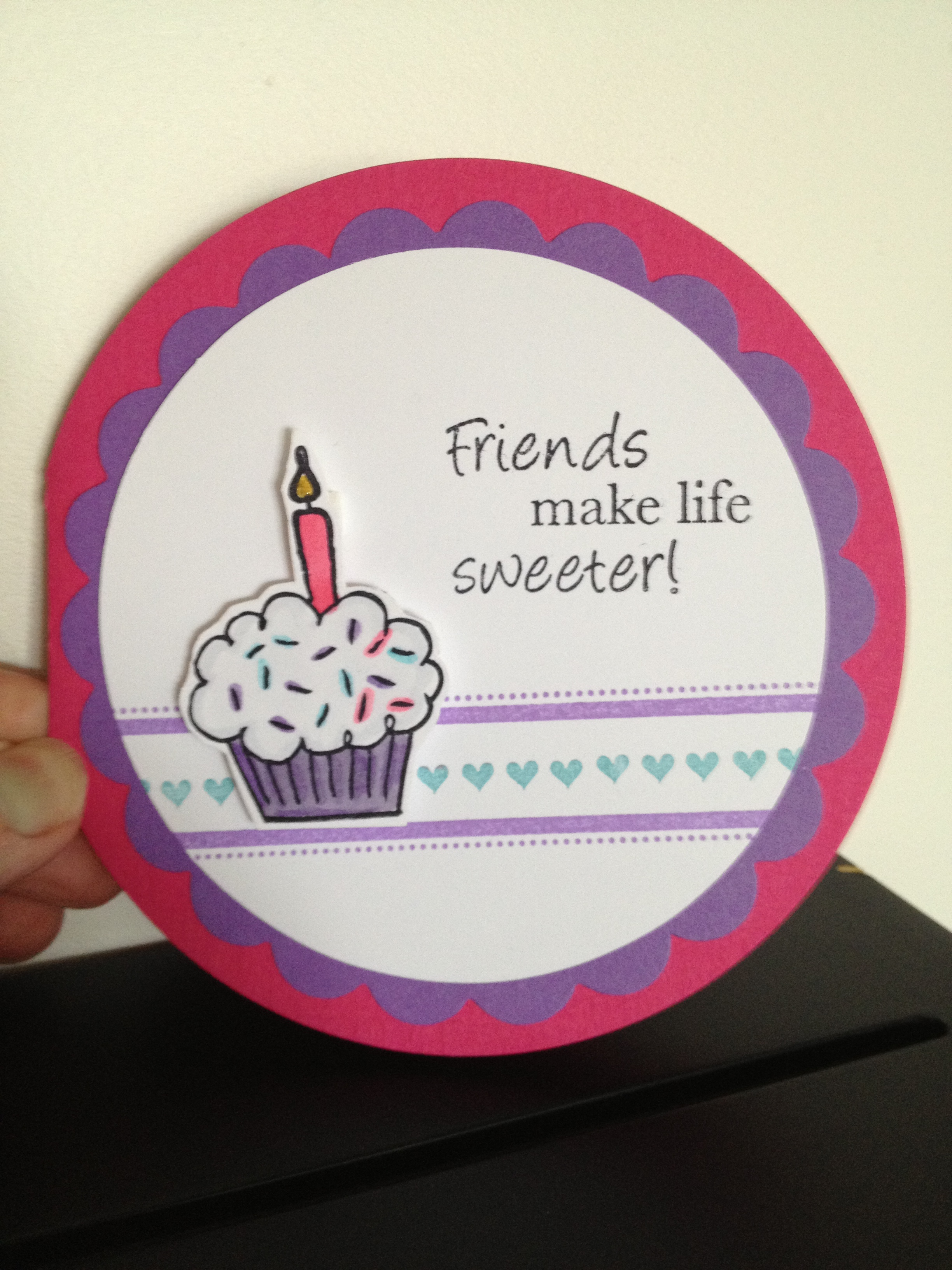 friends circle card
