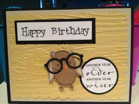 HB Owl Yellow