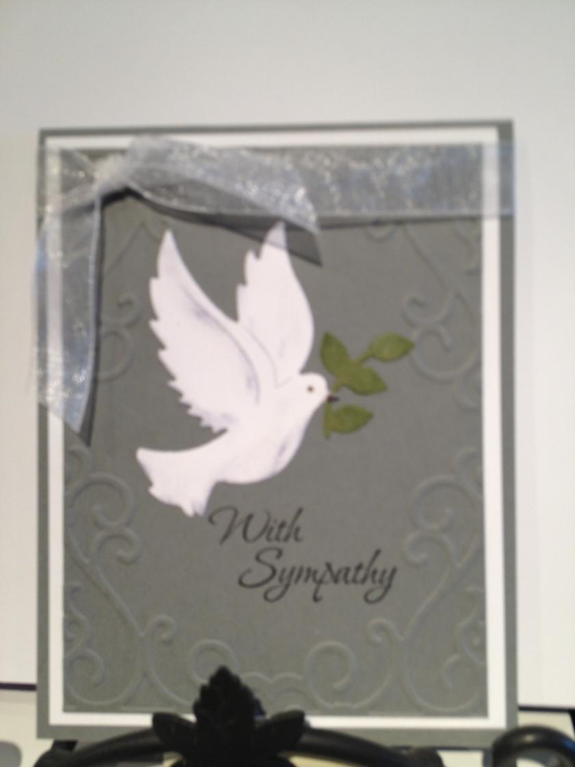 sympathy dove