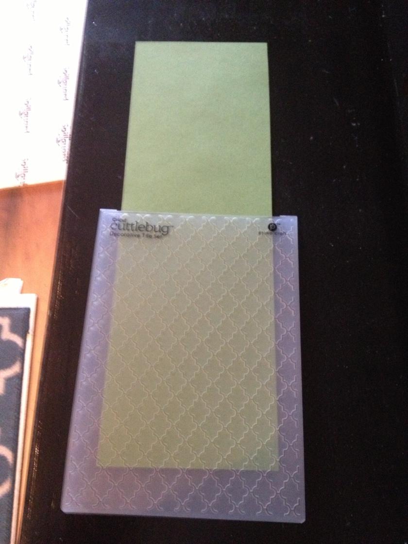 emboss folder