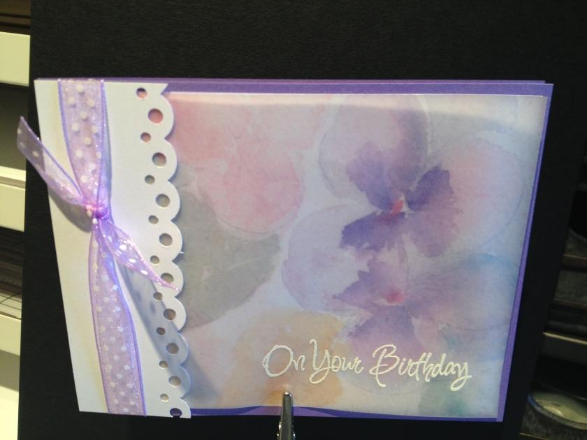 on your birthday