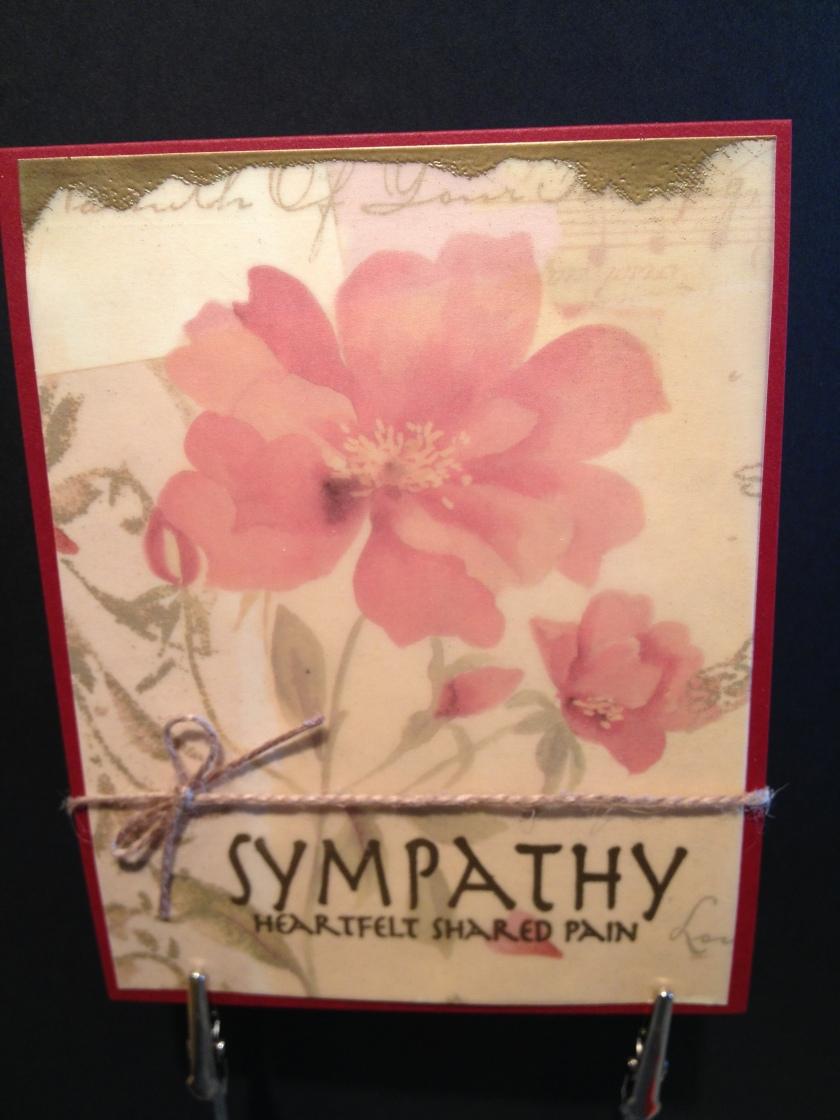 sympathy vellum