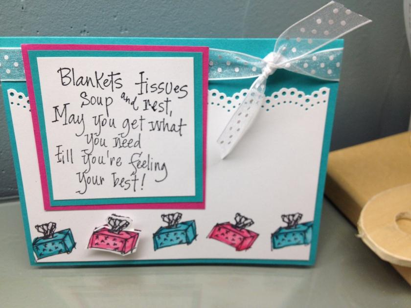 blankets tissues