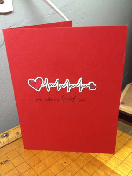 heartbeat card