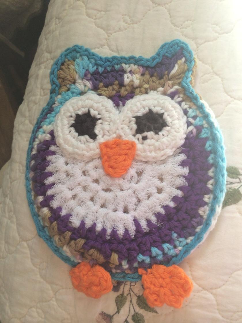 owl scrubbie