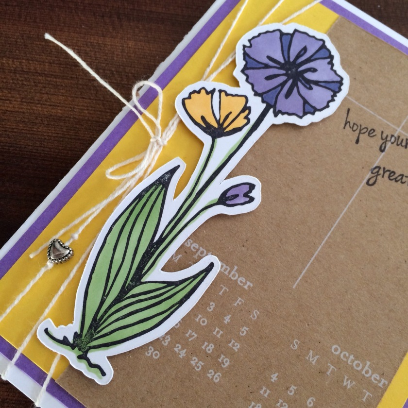 Flower Endless Creations Rubber Stamps